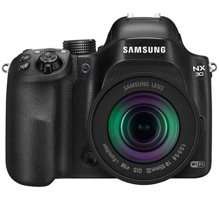 Samsung NX Smart Mirrorless Digital Camera Lens MP Touchscreen LCD HDMIUSB Wi Fi NFC  33 - 225
