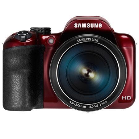 Samsung WBF Smart Digital Camera Lens MPOptical Zoom HVGA LCD p HD Video Wi Fi and NFC Connectivity  150 - 86