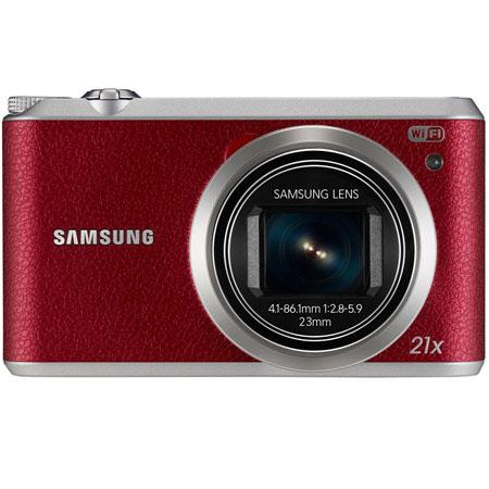 Samsung WBF Smart Digital Camera MPOptical Zoom LCD Display USB Full HD p Video NFCWi FiTag Go  75 - 168