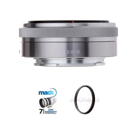 Sony F E mount NEX Series Camera Lens Bundle New Leaf Year Lens Warranty Pro Optic Pro Digital Multi 119 - 621