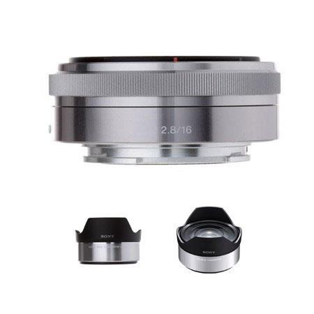 Sony F E mount NEX Series Camera Lens Bundle Sony Ultra Wide Converter Sony Fisheye Conversion Lens 185 - 604