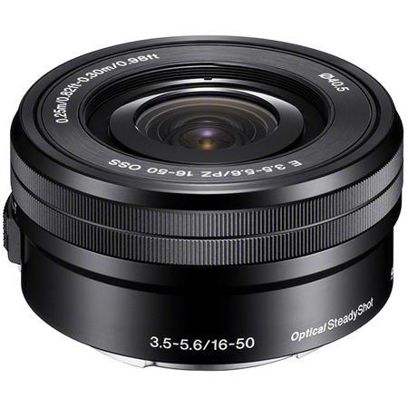 Sony F OSS E mount NEX Series Retractable Pancake Zoom Lens 89 - 305