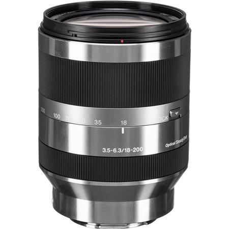 Sony f OSS E mount NEX Series Camera Lens Silver 167 - 238