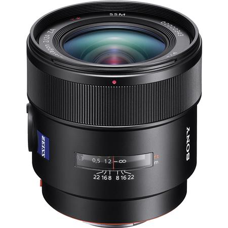 Sony Carl Zeiss Distagon T f SSM Wide Angle Lens Minimum Focus Blade Circular Diaphragm 82 - 512