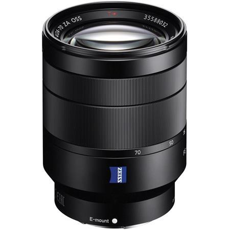 Sony f Vario Tessar T FE ZA OSS E mount NEX Series Full Frame Digital SLR Zoom Lens 167 - 102
