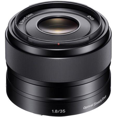 Sony F OSS E mount NEX Series Camera Lens 107 - 371