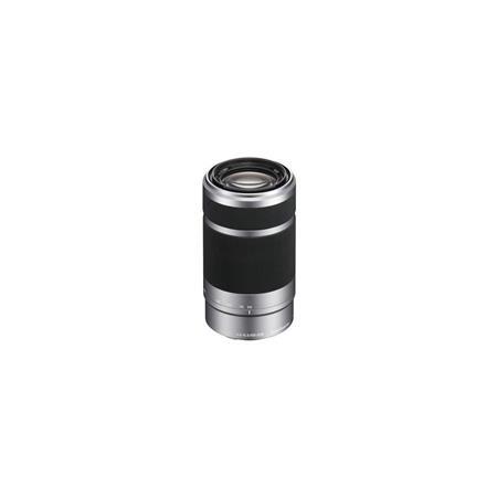 Sony f OSS E mount NEX Series Camera Lens SilverBlack 89 - 305