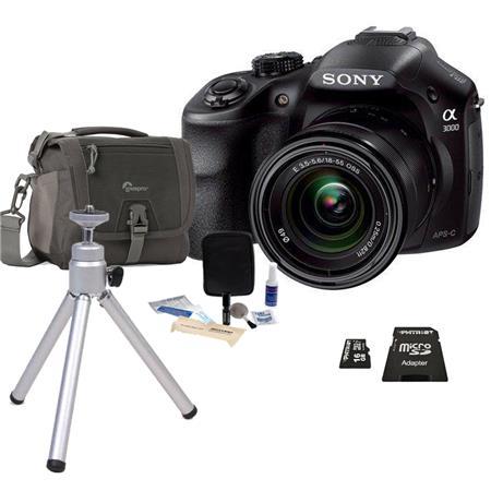 Sony Alpha A Mirrorless Digital Camera F E Mount Lens MP Bundle Slinger Holster Case GB Ultra SDHC C 47 - 647