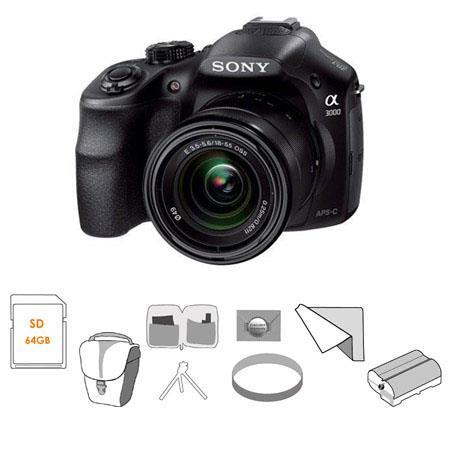 Sony Alpha A Digital Camera F E Mount Lens MP Bundle Slinger Holster Case Sony GB UHS Cls SD Card Ne 89 - 465