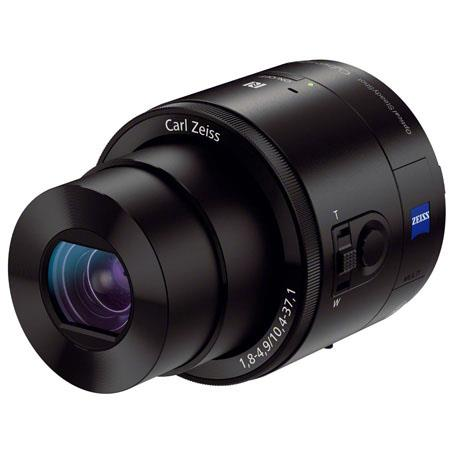 Sony DSC QX Smartphone Attachable Lens Style Camera Carl Zeissf Lens MP 218 - 532