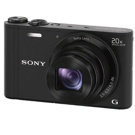 Sony Cyber Shot DSC WX Digital Camera MegapixelOptical Zoom Full HD p Video WiFi Sharing  56 - 521