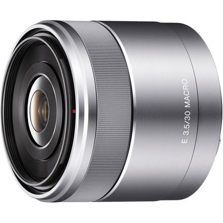 Sony F E mount NEX Series Camera Lens Silver 24 - 614