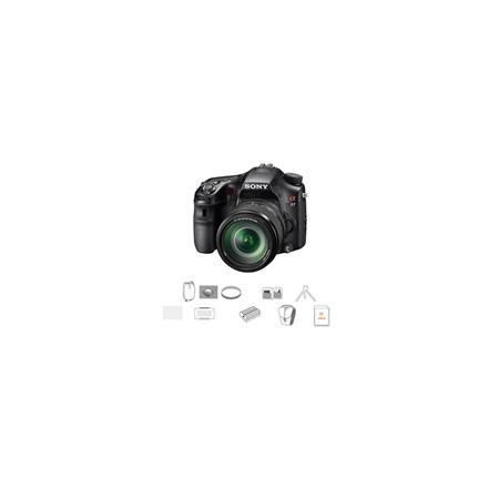 Sony Alpha DSLR SLT A Camera Sony f SAM AFDMF Zoom Lens Bundle Sony GB SD Memory Card Camera Bag Spa 196 - 748