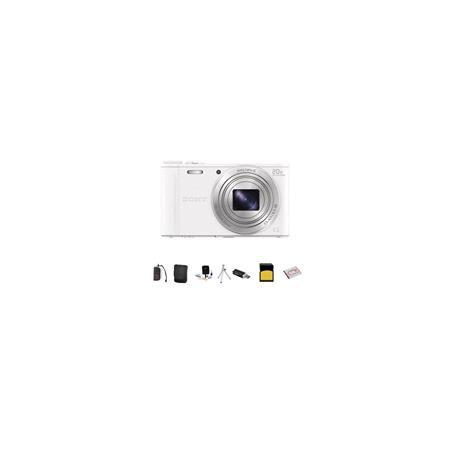Sony Cyber shot DSC WX Digital Camera MPOptical Zoom Bundle Sony GB class SDHC Card Lowepro Case Spa 243 - 279