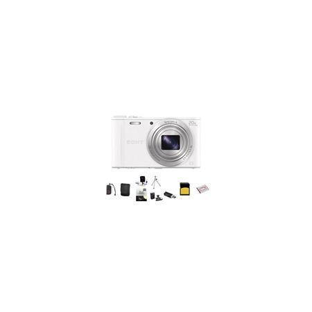 Sony Cyber shot DSC WX Digital Camera MPOptical Zoom Bundle Sony GB class SDHC Card Lowepro Case Spa 91 - 175