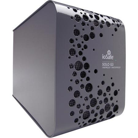 IoSafe TB Solo USB External Hard Drive Up to Gbps USB Data Transfer Rate Fire and Waterproof Year Da 66 - 372