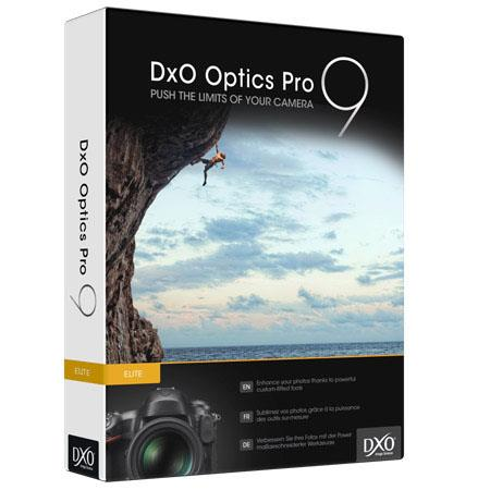 DXO Optics Pro Elite Edition Photo Enhancing Software Macintosh Windows Full Frame Crop Format Camer 206 - 126
