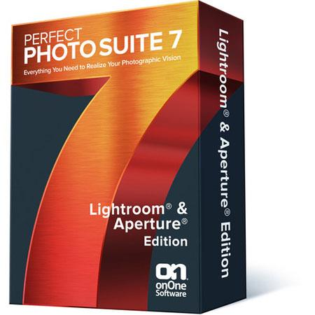 onOne Software Perfect Photo Suite Lightroom and Aperture Edition Software DVD ROM Free Upgarde to V 64 - 500