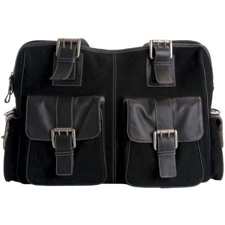 Jille Weatherproof Large Rolling Camera Bag Leather Suede Combination Exterior Velcro Divider Interi 136 - 496