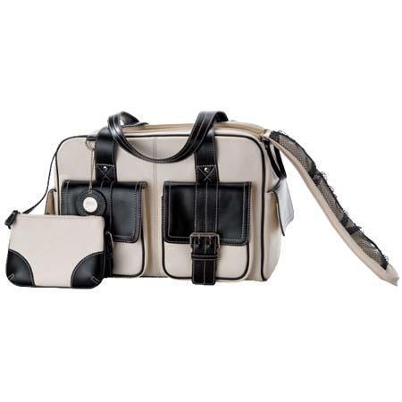 Jille Weatherproof Medium Bone Leather Camera Bag Leather Trim Velcro Divider Interior 253 - 431