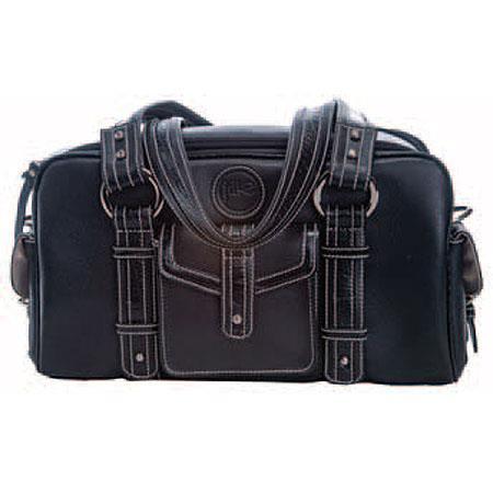Jille Small Weatherproof Leather Camera Bag Croc Trim Exterior 66 - 454