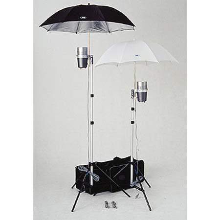 JTL DL Dual Light Kit Versalight J Monolight Strobes FREE Reflective Umbrella 82 - 46