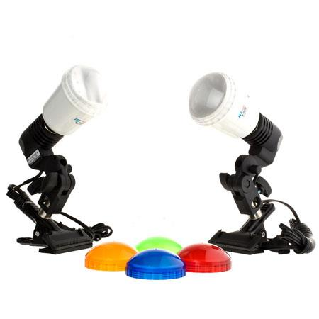 JTL DL Copy Light Kit Two S M Master AC Slave Strobes Guide Number of ISO Feet 120 - 266