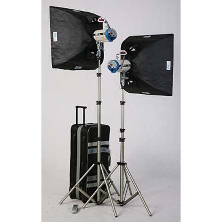 JTL DL Versalight D Soft BoKit Versalight D ws Monolights Light Stands Soft Boxes Digital Remote and 129 - 459