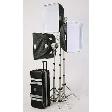 JTL TL Everlight Kit Everlights watt Bulbs Stands Soft Boxes Case FREE Extra watt Bulb Fuse 334 - 113