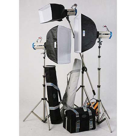 JTL TL Versalight D Boom Kit Two Watt Second Versalight D One Watt Second D Monolights Light Stands  238 - 138