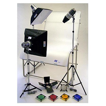 JTL TL Still Life Photo Table Kit Table Monolights Softboxes Light Stands 203 - 675