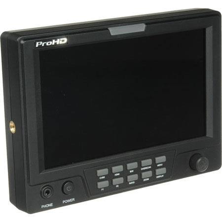 JVC DT XFI Full Featured On Camera Field MonitorResolution HDSD SDI Input HDMI Waveform Vectorscope  134 - 760
