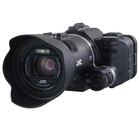 JVC GC PX Full HD Everio Camcorder CMOS SensorOptical ZoomDigital Zoom Focal Length LCD Screen 247 - 87