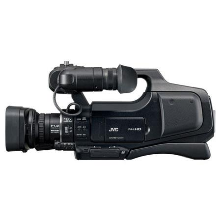 JVC GY HMU HD Professional Shoulder Camcorder MPOptical ZoomDigital Zoom LCD Display to Shutter Spee 347 - 141