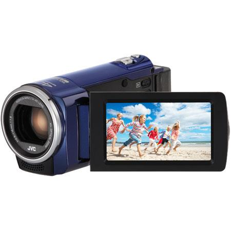 JVC GZ E Full HD Everio CamcorderOptical ZoomDigital Zoom LCD Panel CMOS Sensor SCSDHCSDXC Focal Len 57 - 515