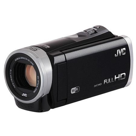 JVC GZ EX Full HD Everio Camcorder MP CMOS SensorDynamic ZoomOptical Zoom Touch Panel LCD Focal Leng 129 - 45