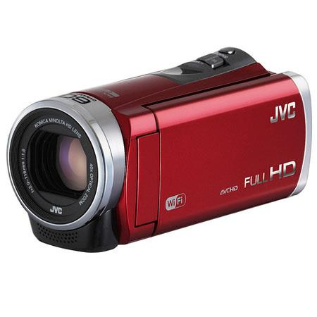 JVC GZ EX Full HD Everio Camcorder MP CMOS SensorDynamic ZoomOptical Zoom Touch Panel LCD Focal Leng 215 - 211