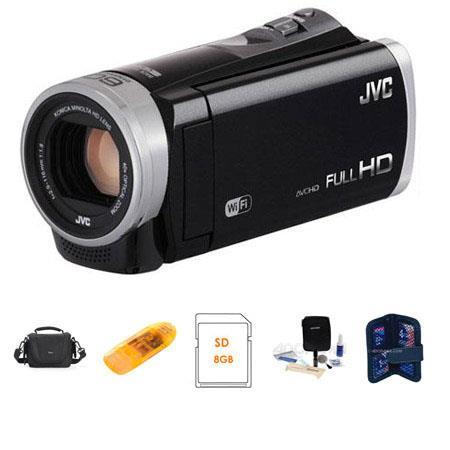 JVC GZ EX GB Full HD Everio Camcorder Bundle Lowepro Camcorder Case Spare Li Ion Battery GB SDHC Car 306 - 120