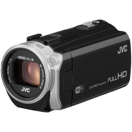 JVC GZ EX Full HD Everio CamcorderResolutionOpticalDynamic Zoom MP CMOS Sensor LCD Display SCSDHCSDX 61 - 588