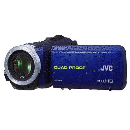 JVC Everio GZ R Quad Proof Full HD Camcorder MPOpticalDynamic Zoom Frameless Touch LCD WaterproofSho 129 - 500