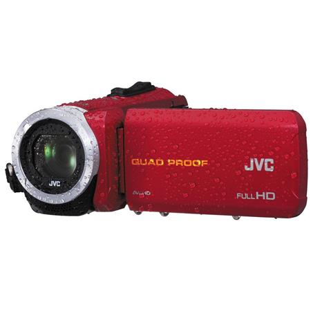 JVC Everio GZ R Quad Proof Full HD Camcorder MPOpticalDynamic Zoom Frameless Touch LCD WaterproofSho 211 - 374