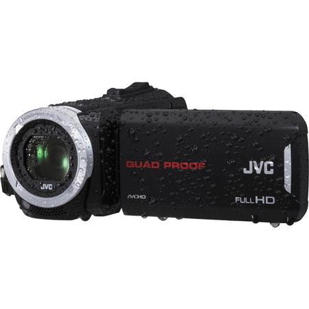 JVC Everio GZ R Quad Proof Full p HD Camcorder MP Internal GB MemoryOpticalDynamic Zoom Touch LCD Di 223 - 229