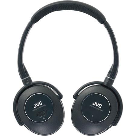 JVC HA NC Stereo Noise Cancelling Headphones Neodymium Driver Unit 125 - 752