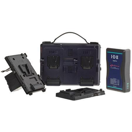 JVC LEJVCKIT IDX Power System GY HM Pro HD Cameras 110 - 429