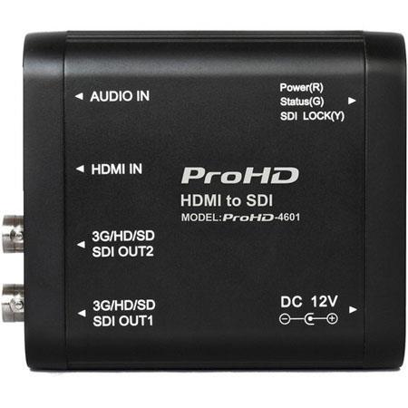 JVC PROHD HDMI to SDI ConverterGHDSD SDI Outputs 74 - 439