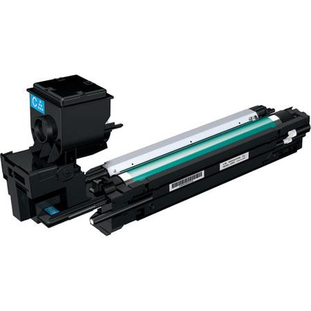 Konica Minolta AWGDF Cyan High Capacity Toner Cartridge MCDN 47 - 100