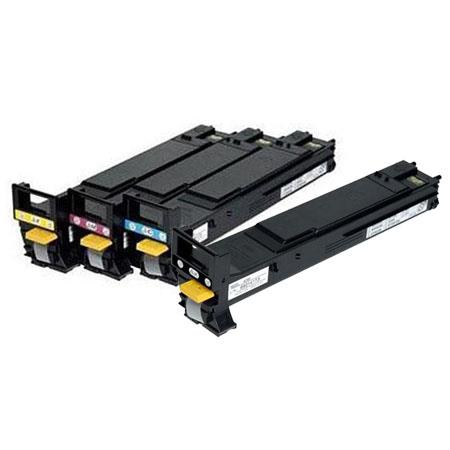 Konica Minolta Complete Color Hi Yield Toner Set Magicolor EN Laser Printer Includes Cyan Magenta  90 - 368