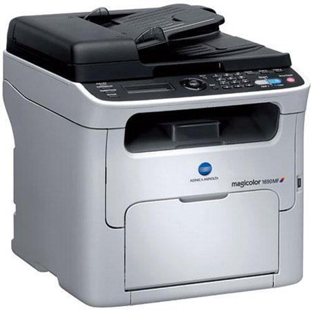 Konica Minolta MF Magicolor Color Multifunction Laser Printer Print Copy Scan and Faxdpi ppm Print S 212 - 183