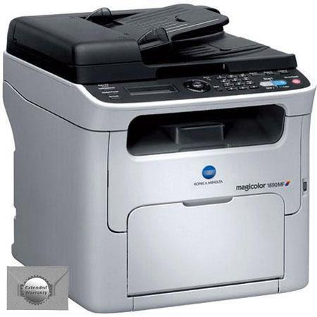 Konica Minolta MF Magicolor Color Multifunction Laser Printer Bundle year additional Konica Minolta  72 - 563