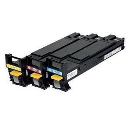 Konica Minolta High Capacity Color Toner Value Pack Magicolor and Series Printers Cyan Magenta  288 - 176